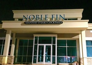Noble Fin sign