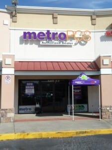 Metro PCS sign